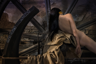 lost places, nude, foto by HansPeter Muff